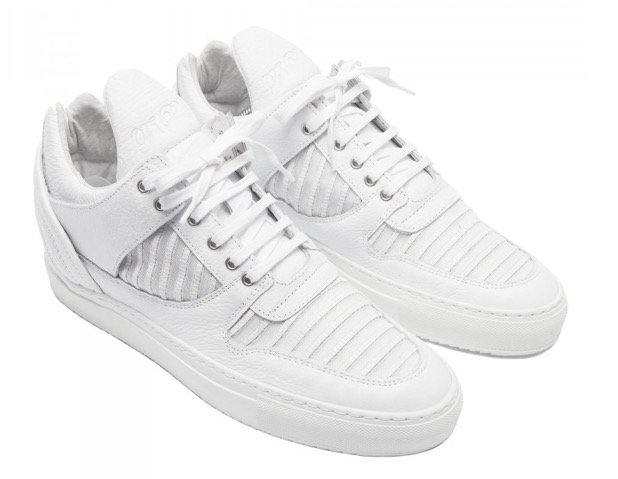 Filling Pieces Transformed Striped Mesh 2.0 (white)
