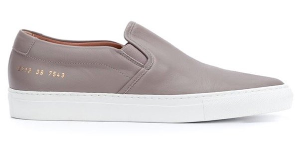 Women by Common Projects Slip-On (gray)