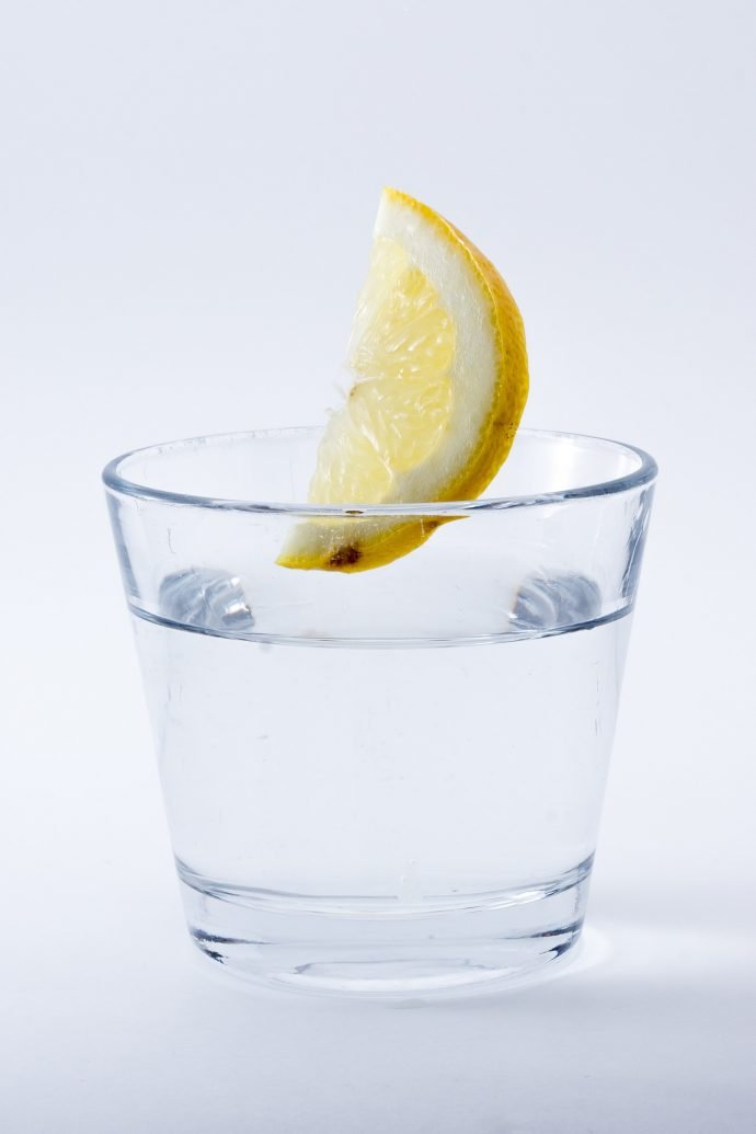 Keep yourself feeling fresh with water throughout the day.