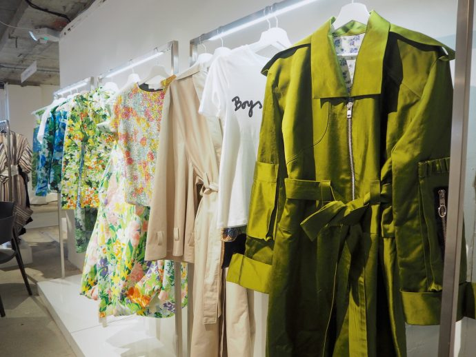 The Closet Does Lfw Exploring The Designer Showrooms For Ss18 The Closet